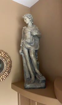 Concrete/ceramic statues. Almost 5 ft tall. Pair of 2. Great deal.  Edmonton, T6M 2J3