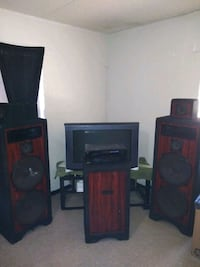 Home stereo speakers
