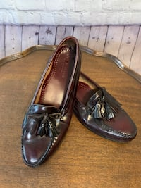 Men's Cole Haan tassel loafer Brown Size 13