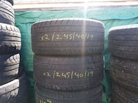 245/40R19 Continental pair of 2 Calgary, T3G 5C8