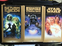 Gold Star Wars Trilogy 1997 VHS  used Reduced !! Mount Airy, 21771