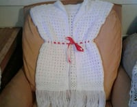 white knit sleeveless cardigan Las Cruces, 88001