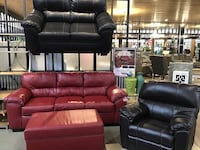 ON SALE! $45 Down Sofa Loveseat Sectional No Credit Financing Brand New #876 Westerville, 43082
