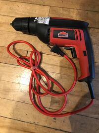 black and red Jobmate corded power drill Winnipeg, R2L