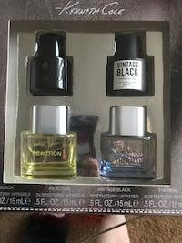 Two black and white perfume bottles Los Angeles, 90027