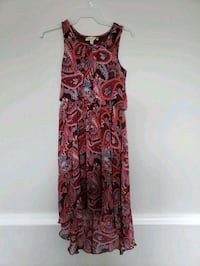 women's red and black floral sleeveless dress North Charleston, 29406