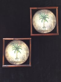 Palm tree decor