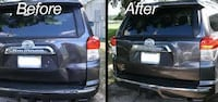 black and gray car door LEESBURG