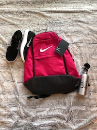 red and black Nike duffel bag Bowie, 20720