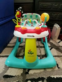 baby's white and green Fisher-Price walker Alexandria, 22310