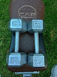 Pair of 25LB Dumbbells San Jose, 95121