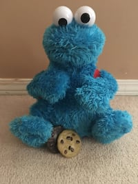 Cookie Monster (Sound included, Mouth opening feature to place cookies)  St Albert, T8N 7B3