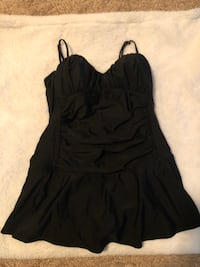 Black Size 14 Swimsuit