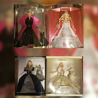 Lot of 6 Barbie