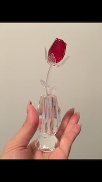 Swarovski Crystal rose