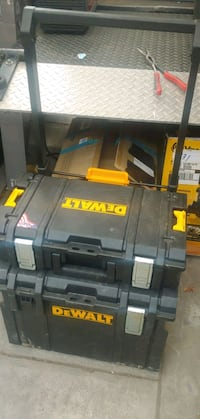 Dewalt 2pc Rolling Tough System Stackable Tool Box Fontana, 92335