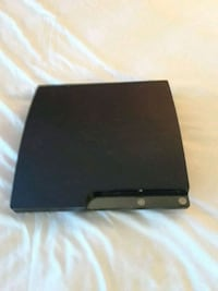 black Sony PS3 slim console Fairfax, 22030