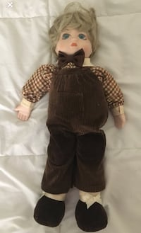 Possibly haunted doll.