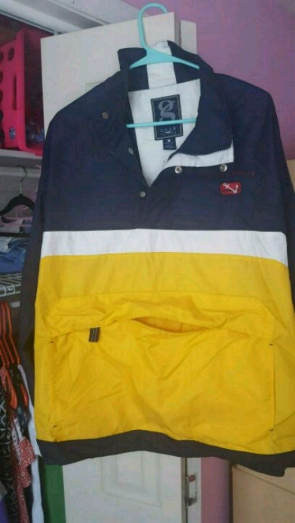 Annapolis wind breaker pullover by Gear size Large 8b6309cb-49bc-484b-9d9f-5346a2a9a5bc