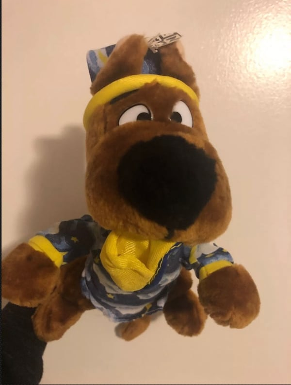 Plush Scooby Doo In Pajamas 9 Dog Cartoon Network Stuffed Toy