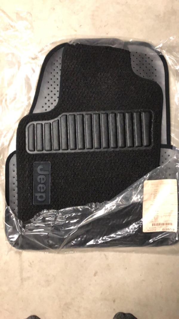Used 2012 Jeep Grand Cherokee Front And Rear Floor Mats Brand New