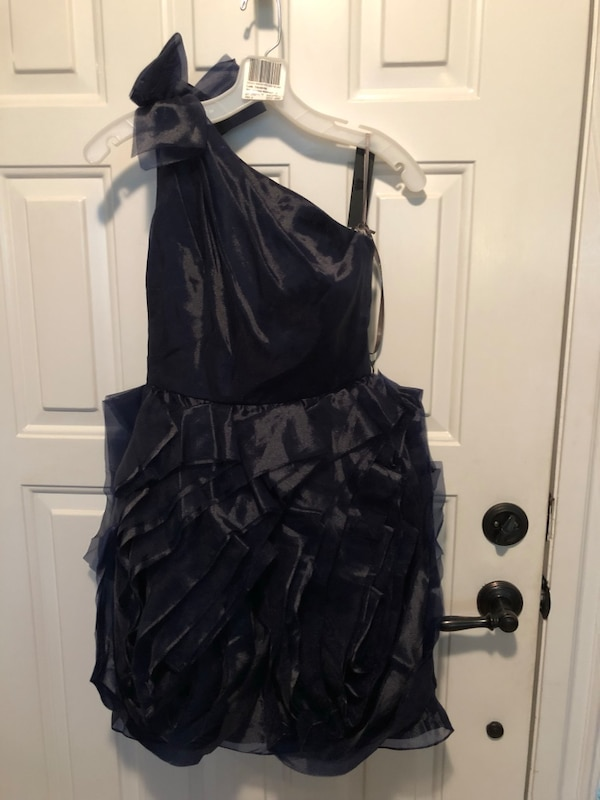 Navy cocktail/prom dresss