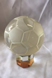 Crystal Soccer Ball with Stand