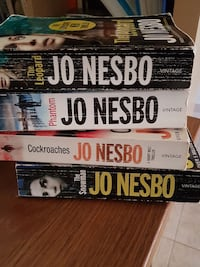 4 great Jo Nesbo books in English 20€ for all 4