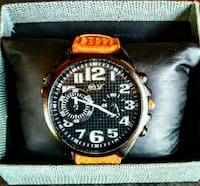 D&J Watch Co Men's Chrono - NEW IN BOX Silver Spring, 20906