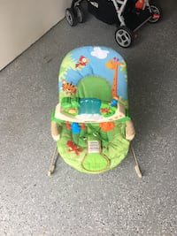 baby's green and blue bouncer Laurel, 20707
