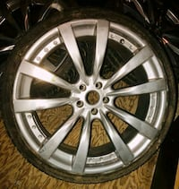 22 in wheels ford  5x4.5 or 5x114.3 Germantown, 20876