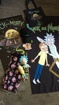 Rick and Morty gift pack. Red Deer, T4P