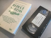 VHS Tape reduce stress  Centreville, 20120