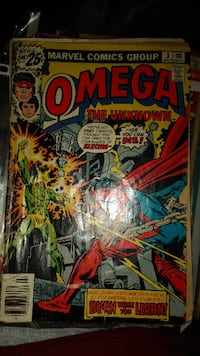 Omega the Unknown #3 July 1976 VG- Electro Canonsburg