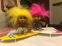 Two vintage Russ troll dolls Mountain View, 80212