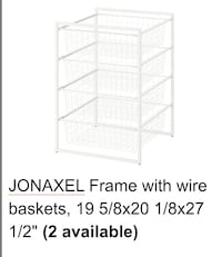 Frame With Wire Basket (2 Available)