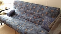 blue and white floral fabric sofa St Albert, T8N 0V9