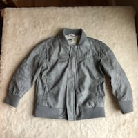 GENUINE KIDS 4T Girls MOTO JACKET FAUX LEATHER Gray Riding Darling! Haverhill, 01832