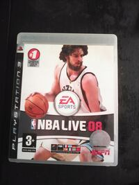 PS3 NBA Live08 Barcelona, 08003
