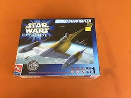 Star Wars Naboo Starfighter Model Kit