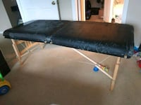 black portable massage table Orlando, 32835