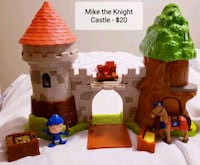 Mike the Knight Glendragon Castle Playset - $20 Toronto, M9B 6C4