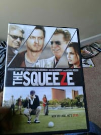 The Squeeze DVD case