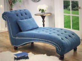 New fabric chaise lounge furniture