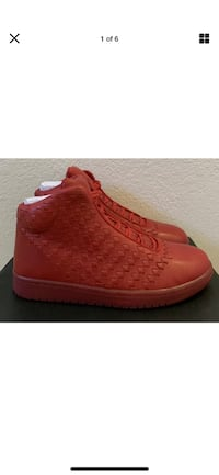 2014 Air Jordan Shine Varsity Red Sz 10.5 Limited Release New Msrp$400