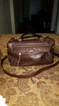 brown leather 2-way bag Victoria, V9A 3M5
