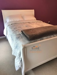 Brand new full size bed frame with mattress and box spring  Silver Spring, 20902
