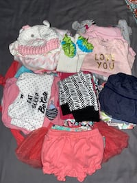 Tons of 0/3 3/6 month baby girl clothes! Alexandria, 22312