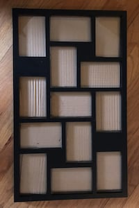 Black collage picture frame