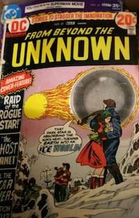 Beyond the Unknown comic 1969  Red Deer